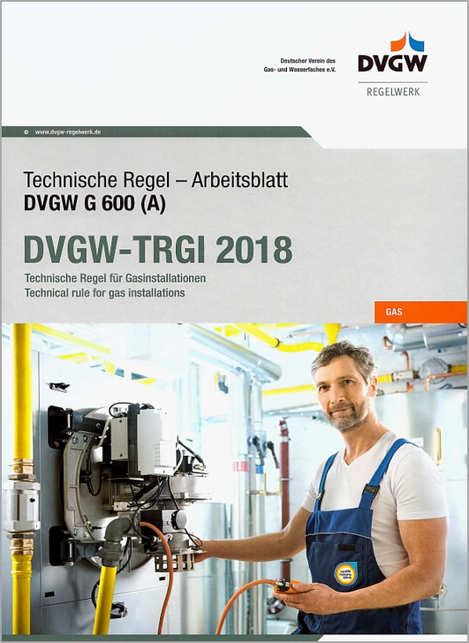 DVGW-TRGI 2018 – für Monteure - Online (Hinweise beachten)