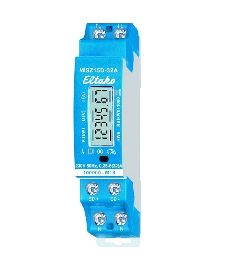 Eltako Wechselstromzähler WSZ15D-32A MID