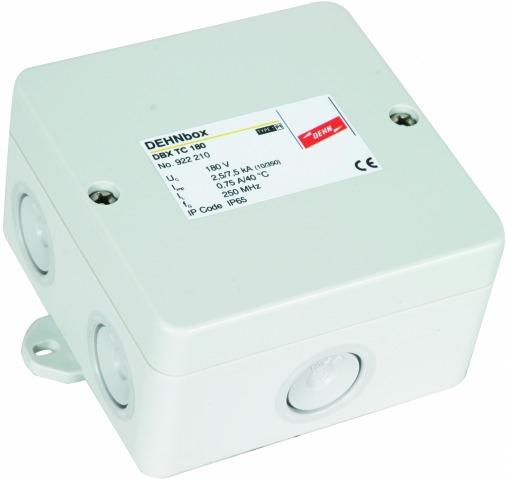 DEHNbox TC 180 Kombiableiter für Telefon- und Internetanschlüsse