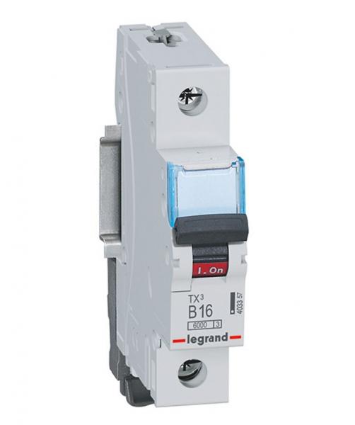Legrand Leitungsschutzschalter TX3 B (230 V, 16 A, 1polig)