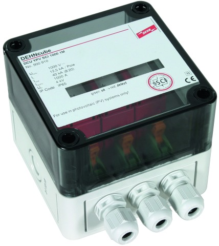 DEHNcube YPV SCI 1000 1M Überspannungsableiter für PV-Systeme