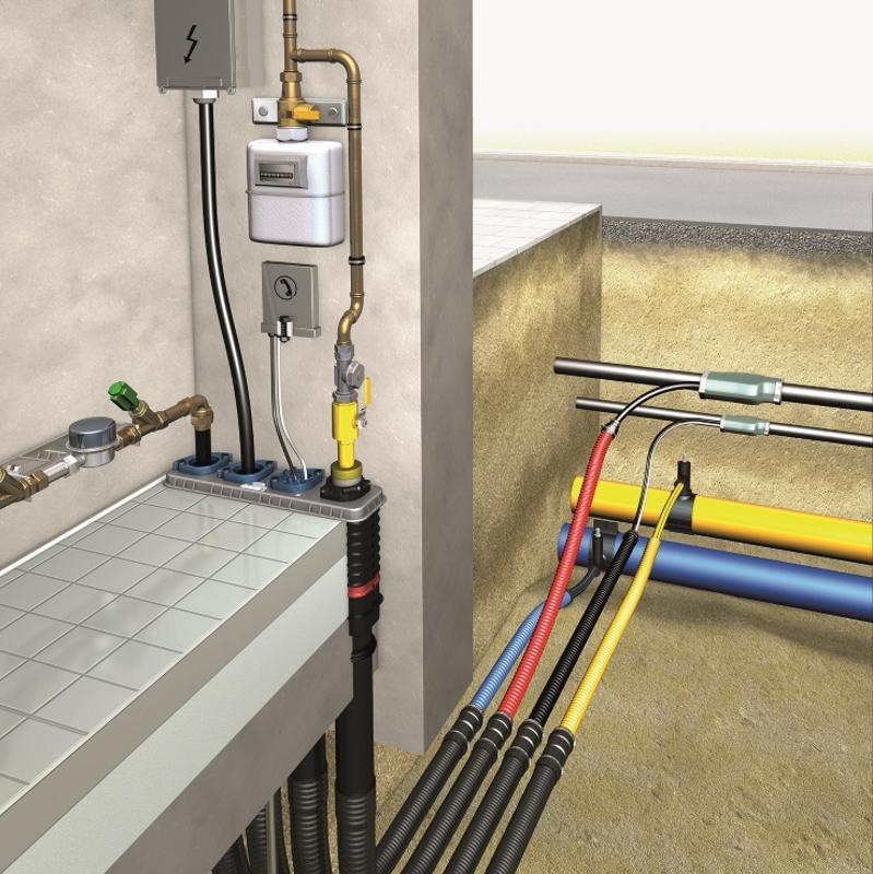 DOYMA Mehrsparte Bauherrenpaket Quadro secura basic r4 + (ohne Keller)