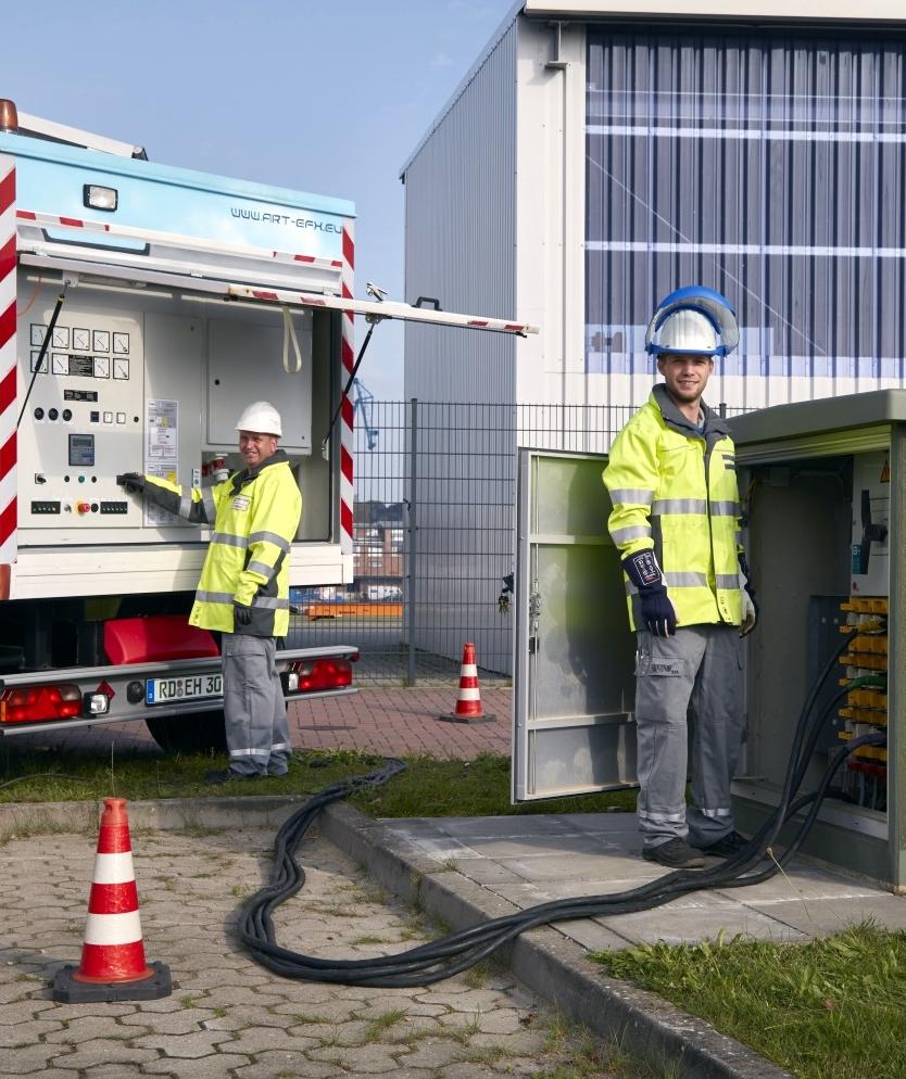 Bau und Errichtung kundeneigener Mittelspannungs-Stationen