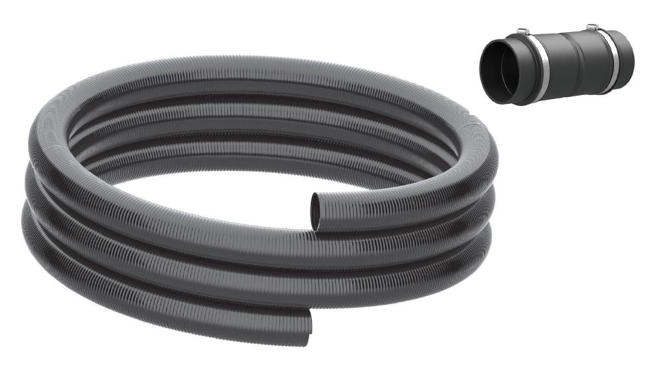 Hauff-Technik Spiralschlauch mit Rohranschluss-Set