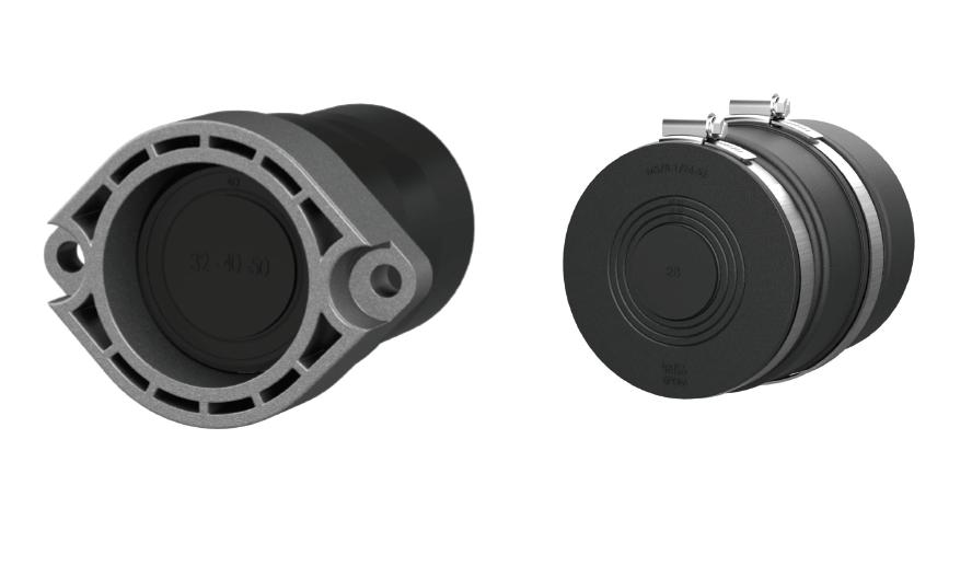 Hauff-Technik Spartendichtelement Set für Wasser